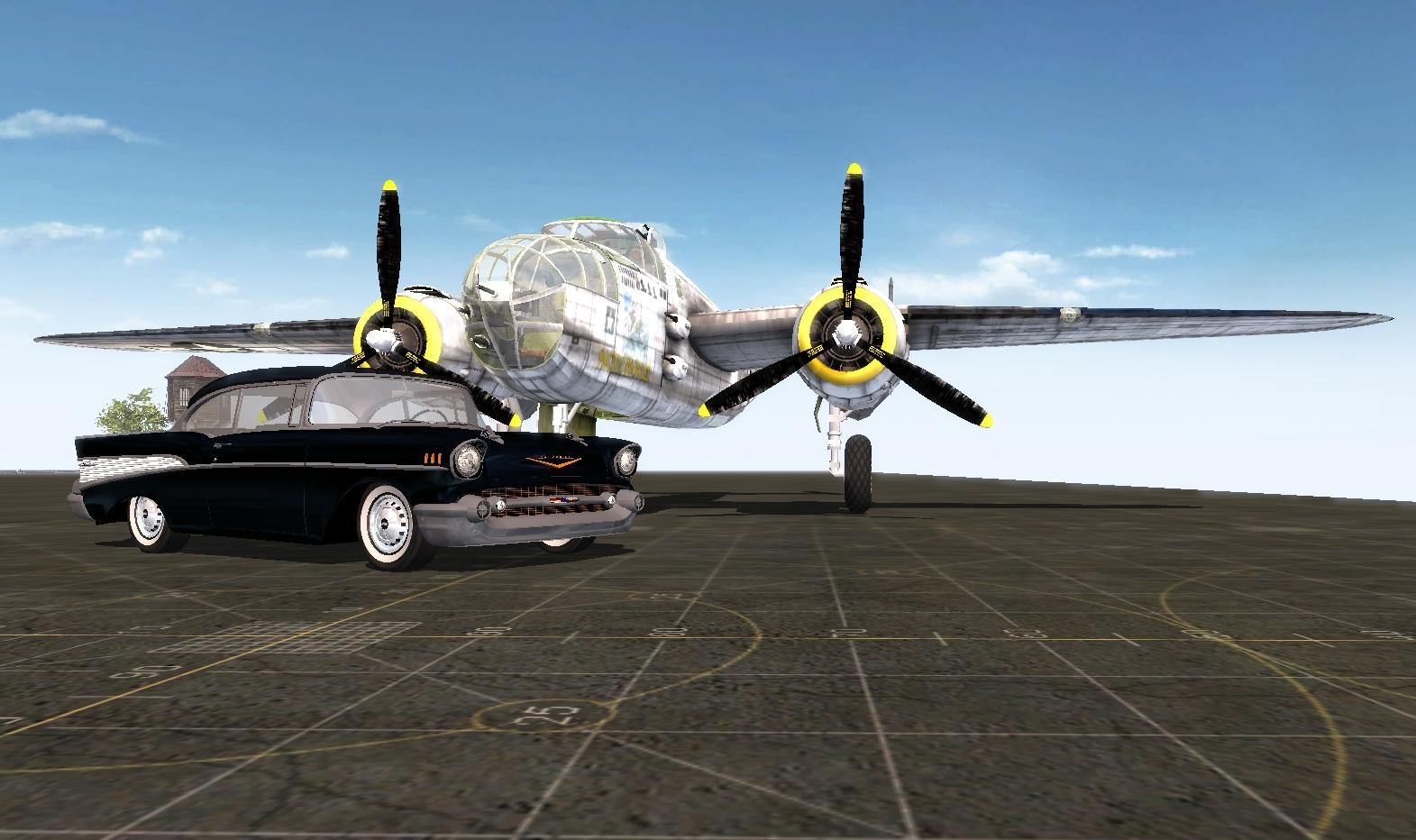 Скачать North American B-25 Mitchell — бесплатно
